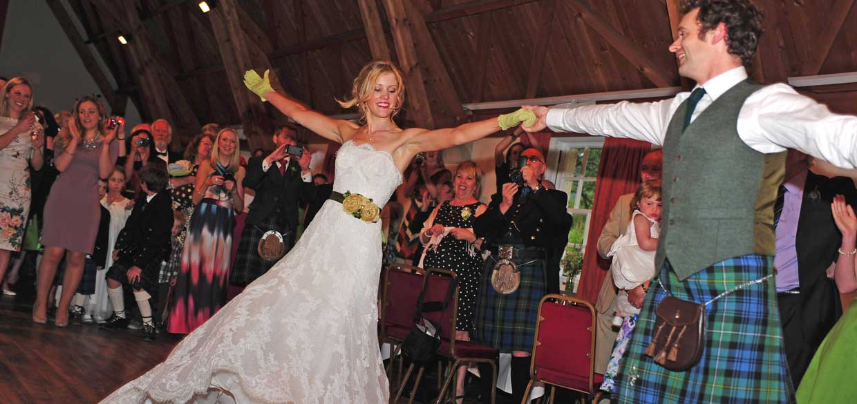 Weddings at Fortingall...